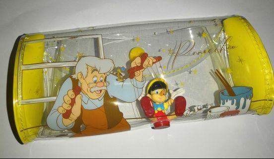 7-11迪士尼經典故事人物隨行袋-小木偶橢圓形