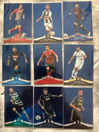 Panini Treble Soccer 2018 - Blue (#/75)