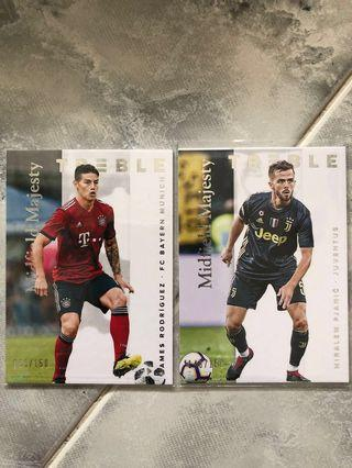🚚 Panini Treble Soccer 2018 - Midfield Majesty (#/150)