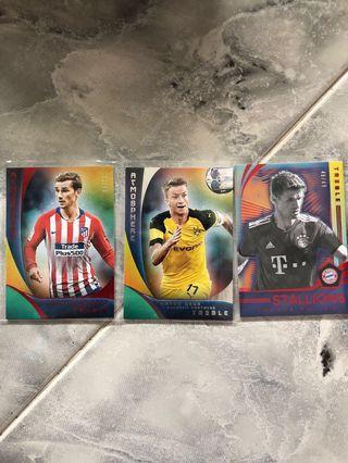 🚚 Panini Treble Soccer 2018 - Atmosphere (#/49 & #/150)