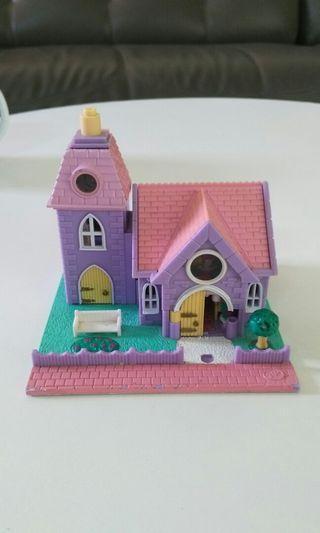 Vintage Polly Pocket Church