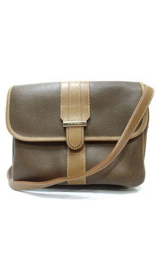 Authentic lancel messenger bag