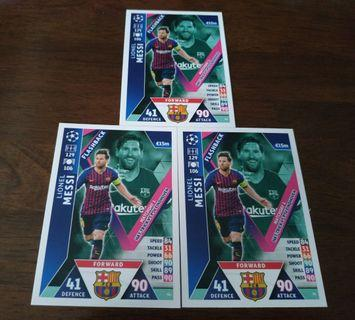 Match Attax ucl