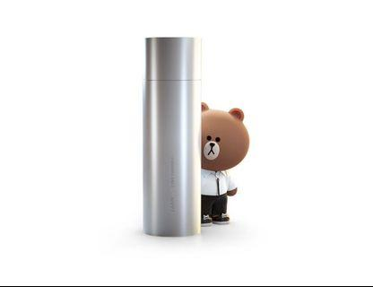 lamy x Line friends - Brown. The Black Edition