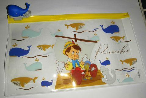 7-11迪士尼經典故事人物隨行袋-小木偶長方形