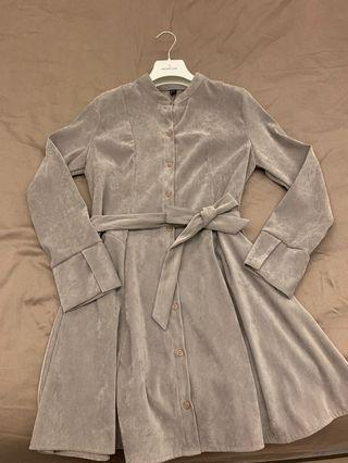 🚚 正韓風衣式洋裝