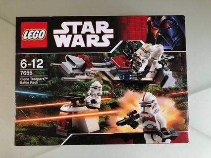 Lego Star Wars 7655 已絕版