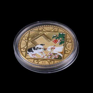 【WholeSale 10pcs/sets】2019 Pig Commemorative Coin Chinese Zodiac Anniversary Coin Souvenir Medal