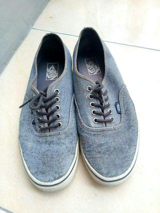 - Vans -  Authentic dark grey waffle GSI