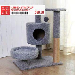🚚 Climbing Cat Tree Villa