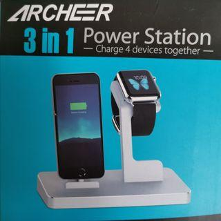 🚚 3 in 1 Charging Station
