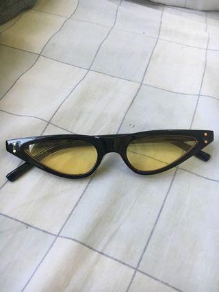 Vintage Flat top Sunglasses