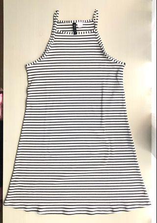 Strip Dress H&M