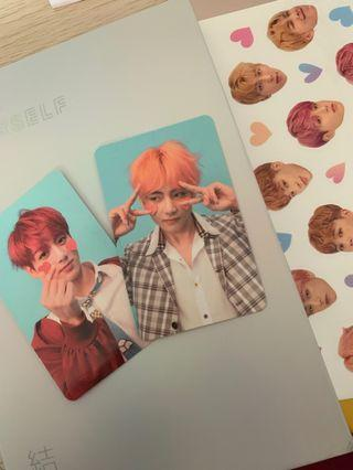 (wts/wtt) love yourself answer official photocards and album ver f
