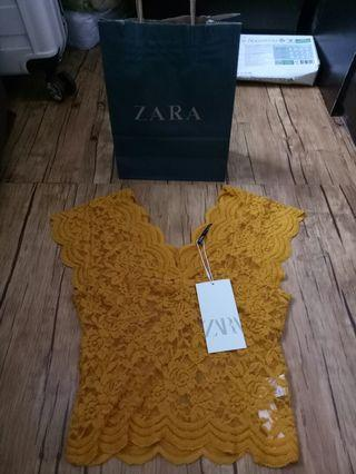 ZARA LACE NEW WITH TAG