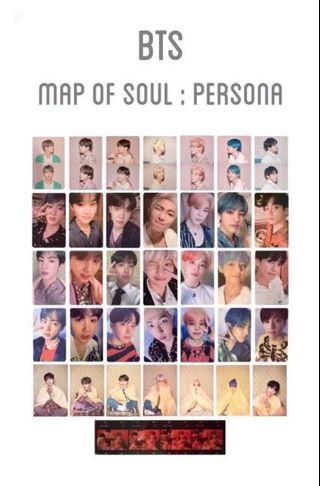 (wtb) map of the soul persona jungkook official photocard