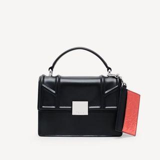 🚚 PEDRO TOP HANDLE FLAP BAG