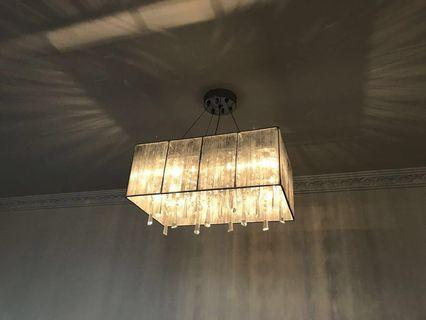 Italian crystal lamp 意大利水晶燈