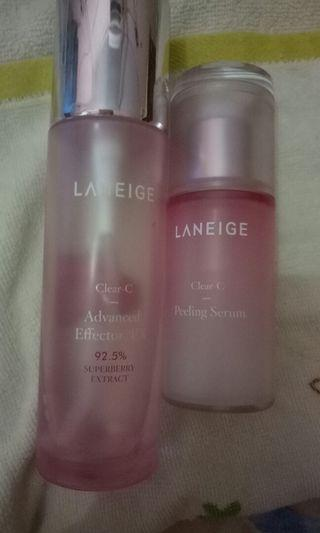 Laneige Clear C Toner+Serum Bundle Paket
