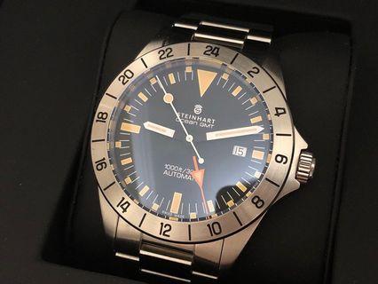 Steinhart Ocean GMT (not Seiko Citizen)