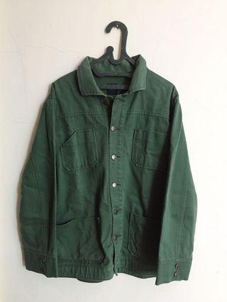 Army Green Trucker Jacket All March