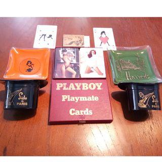 Vintage Ashtrays & Card Games From The 70s