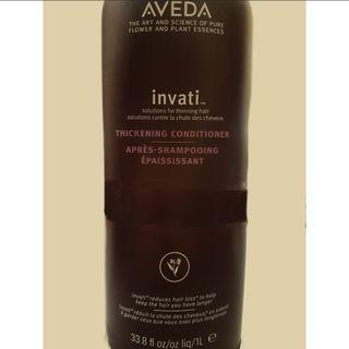 [PRICE REDUCED FROM $60] Aveda Invati Thickening Hair Conditioner