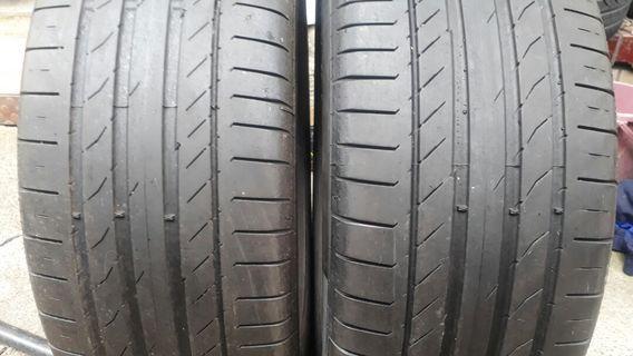 彰化員林 中古輪胎 落地胎 二手輪胎 235 55 18 馬牌 實體店面免費安裝