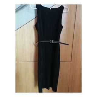 Cue Black Pencil Dress 6