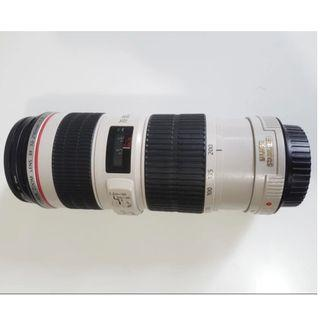 [PRICE REDUCED FROM $850] Canon 70mm -  200mm IS F4 L lens