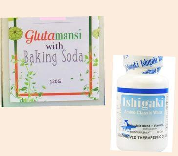 GLUTATHIONE CAPS + FREE SOAP