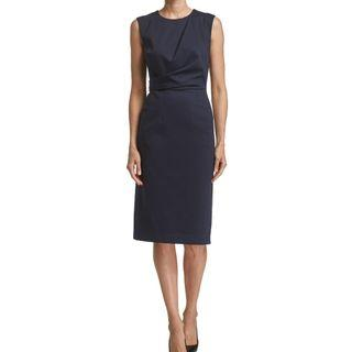 Saba Ta Pencil Dress Navy 6
