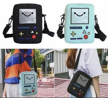 Women Causal Cute Robot Game Machine Cross Shoulder Bag