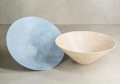 日本陶器🇯🇵 磨砂璀璨星空手工碗