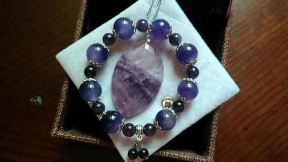 🚚 925頂極紫螢石特價組