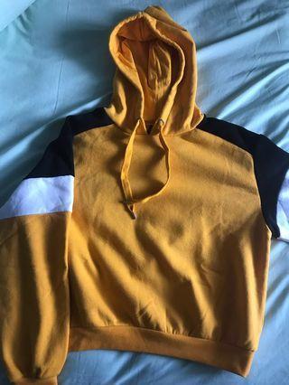 H&M Hoodie warna kuning