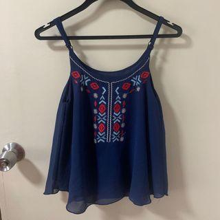 Embroidery  Bohemian Top