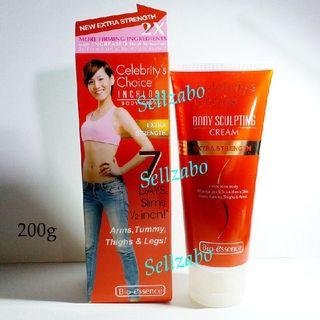 Bio Essence Body Sculpting Cream Extra Strength Red Colour Tube Slim Slimming Firm Firming Luft Lifting Tummy Belly Flabby Arms Thighs Lotion Sellzabo Best Sellers