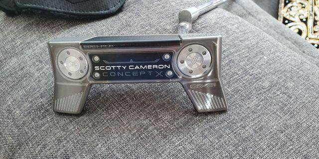 Limited edition Scotty CX-01 Concept Putter