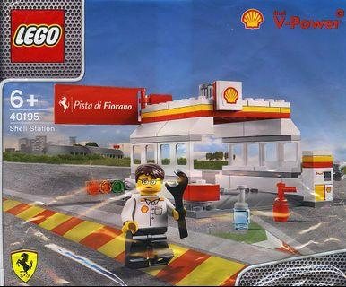 Lego 2014 Shell V-Power Promotion 40195 Shell Station Polybag