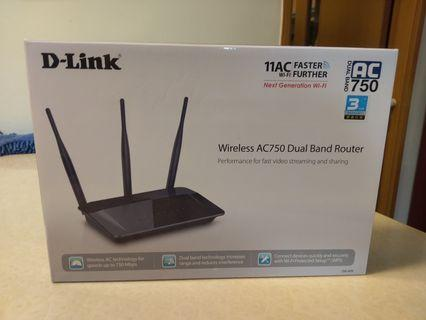D-Link Wireless Router AC750
