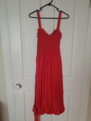 Indikah Red Dress