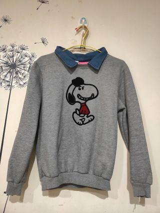 🚚 Snoopy假領上衣