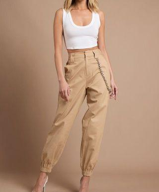🚚 i am gia cobain pants beige sweatpants