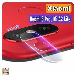 Flexible Glass Camera Xiaomi Redmi 6 Pro - Mi A2 Lite