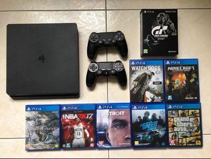 PS4八成新(整組一起賣)