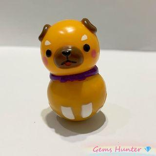 Amuse 柴犬三兄弟 柴犬不倒翁玩具 小擺設 Namco 冒險樂園 小玩具 禮物