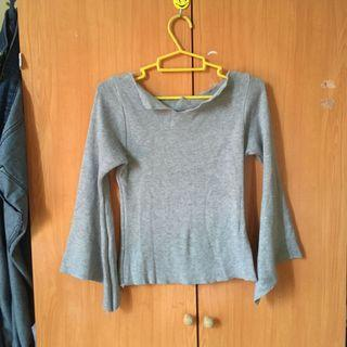 Knitted Body Fitting Blouse
