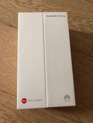 Huawei P10 Plus box only
