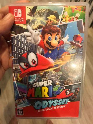 Mario odyssey nintendo switch
